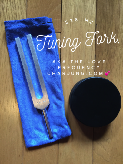 528 Hz Tuning Fork with Striker